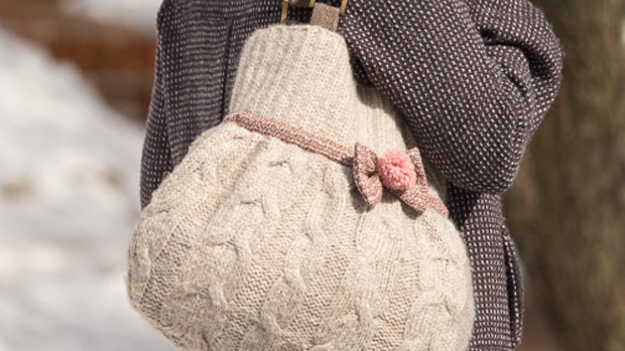 Egy régi pulóver újjászületése Praktika magazin